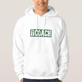 Lacrosse Coach - green Hoodie