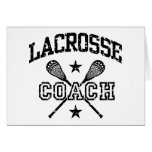 Lacrosse Coach Greeting Card