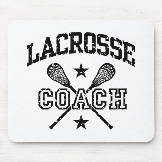 Lacrosse Coach Mouse Pad