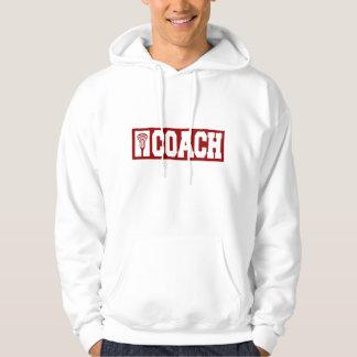Lacrosse Coach - red Hoodie