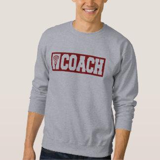Lacrosse Coach - red Sweatshirt