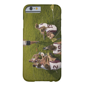 Lacrosse coach speaking to teenage (16-17) team barely there iPhone 6 case