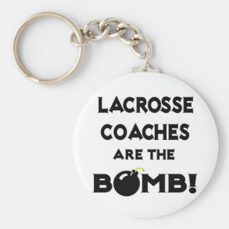 Lacrosse Coaches Are The Bomb! Keychain