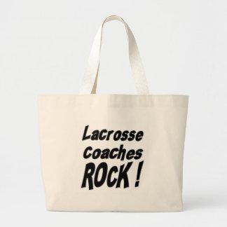 Lacrosse Coaches Rock! Tote Bag