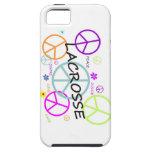 LaCrosse coloreó signos de la paz iPhone 5 Case-Mate Protector
