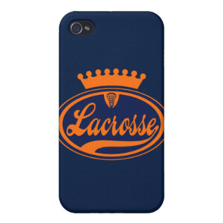 Lacrosse Crown iPhone 4 Cover