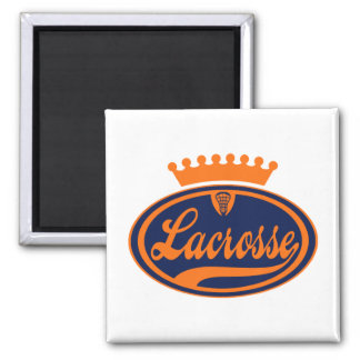Lacrosse Crown Magnet