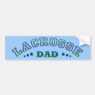 Lacrosse Dad Bumper Sticker