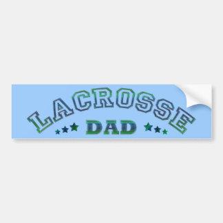 Lacrosse Dad Bumper Sticker