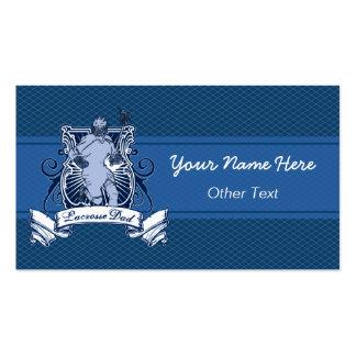 Lacrosse Dad Customizable Business Cards