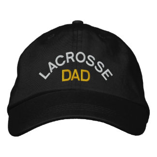Lacrosse Dad Embroidered Cap