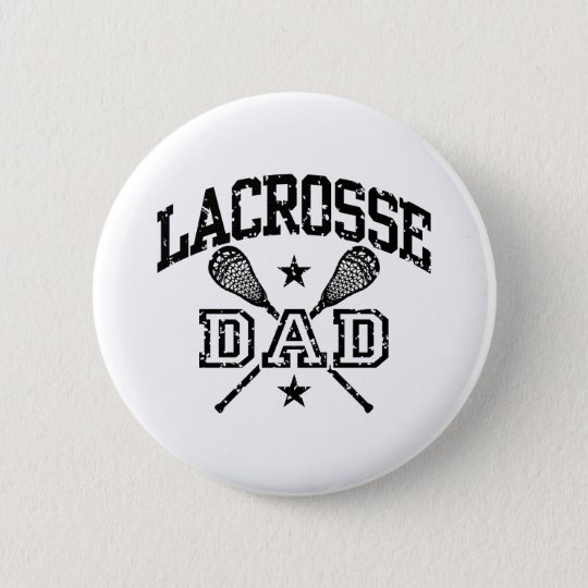 Lacrosse Dad Pinback Button