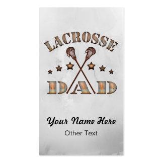 Lacrosse Dad Steampunk Custom Business Cards