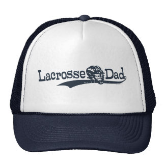 Lacrosse  Dad T-shirts & Gift Items Mesh Hats