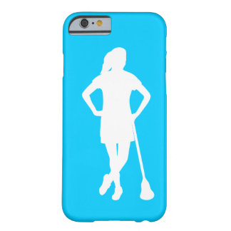 LaCrosse de las mujeres todo el caso del iPhone 6 Funda De iPhone 6 Barely There
