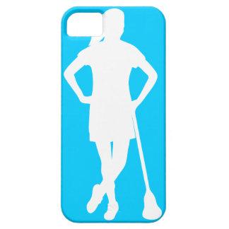 LaCrosse de las mujeres todo el caso del iPhone iPhone 5 Case-Mate Protector