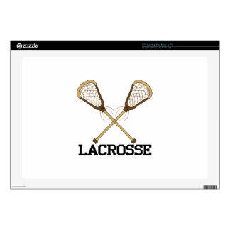Lacrosse Decal For Laptop