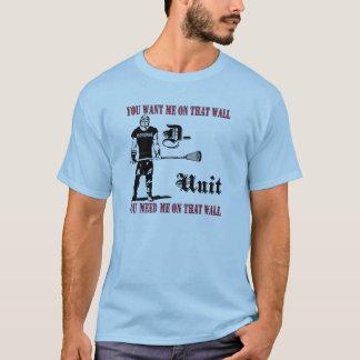 Lacrosse Defense DUnit Wall T-Shirt