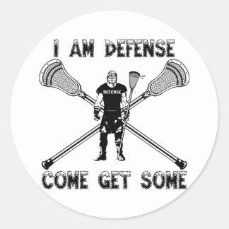 Lacrosse Defense GetSome Sticker