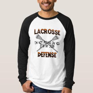 Lacrosse Defense Picking T-Shirt