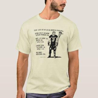 Lacrosse Defense Quote2 T-Shirt