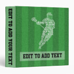 Lacrosse Design Customizable Vinyl Album Binder