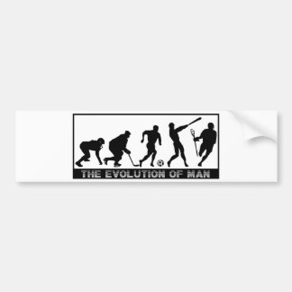 Lacrosse Designs Evolution Bumper Sticker