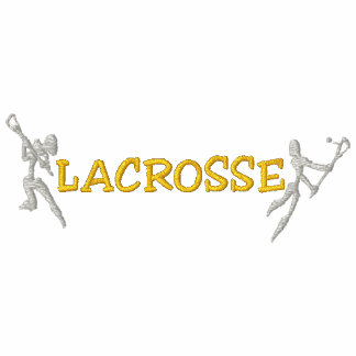 Lacrosse Embroidered Dark Polo Shirt Polo