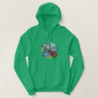 Lacrosse Embroidered Hoodie
