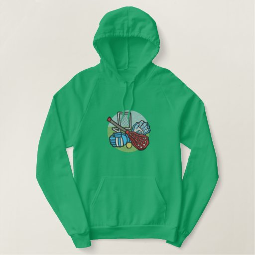 Lacrosse Embroidered Hoodie