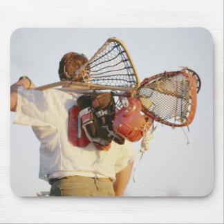 Lacrosse Equipment Mouse Pad