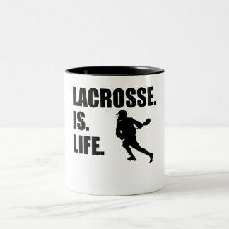 LaCrosse es vida Tazas