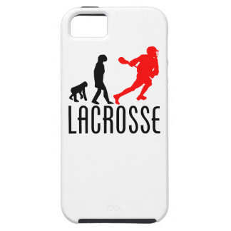 Lacrosse Evolution Red iPhone 5/5S Cover