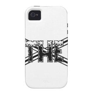Lacrosse Fear The Stick Case-Mate iPhone 4 Case