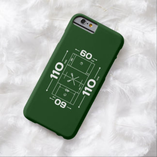 Lacrosse Field Dimensions iPhone 6 case
