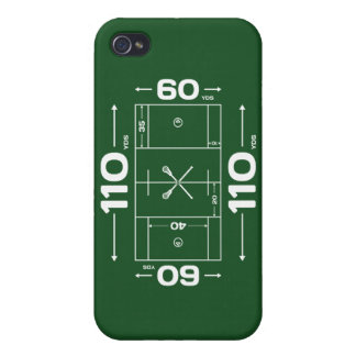 Lacrosse Field Dimensions phone case iPhone 4/4S Covers
