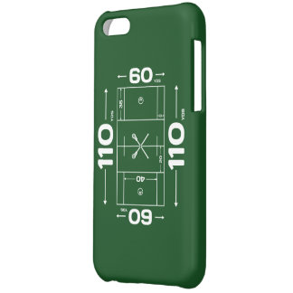 Lacrosse Field phone case Cover For iPhone 5C
