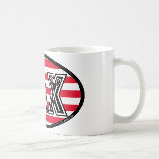 Lacrosse Flag America Coffee Mug