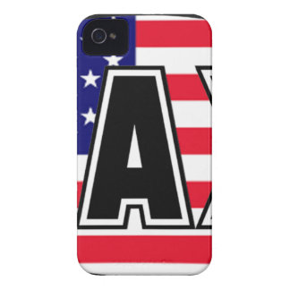 Lacrosse Flag America iPhone 4 Covers