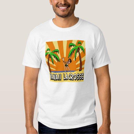 Lacrosse Flag Hawaii T-Shirt