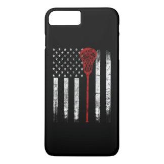 Lacrosse Flag iPhone 8 Plus/7 Plus Case