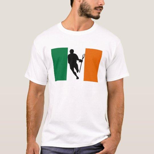 Lacrosse Flag IRock Ireland T-Shirt