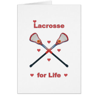 Lacrosse For Life Card