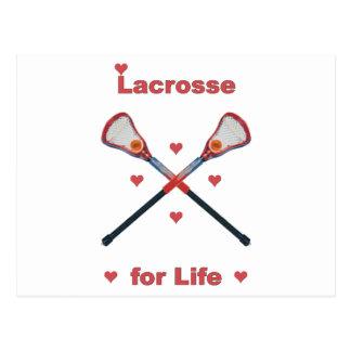 Lacrosse For Life Postcard