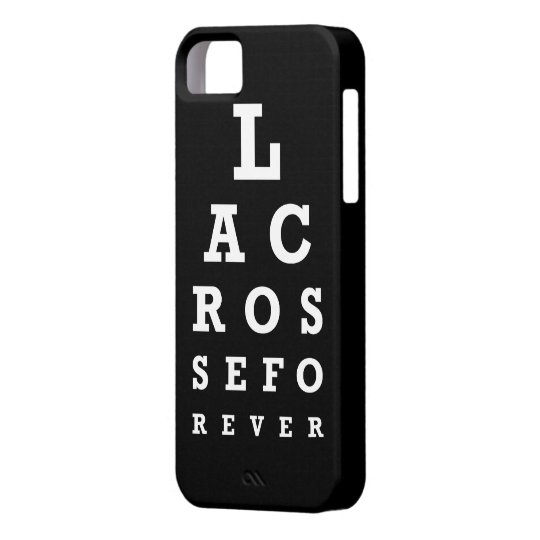 Lacrosse Forever iphone 5 case
