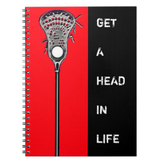 lacrosse gift ideas spiral note book