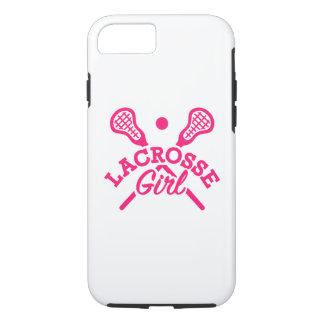 Lacrosse girl iPhone 8/7 case