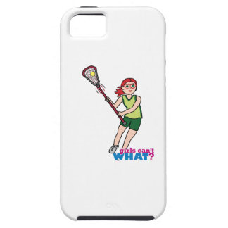 Lacrosse Girl - Light/Red iPhone 5 Covers