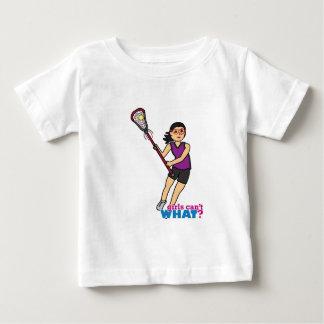 Lacrosse Girl - Medium Baby T-Shirt