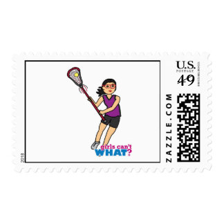 Lacrosse Girl - Medium Postage